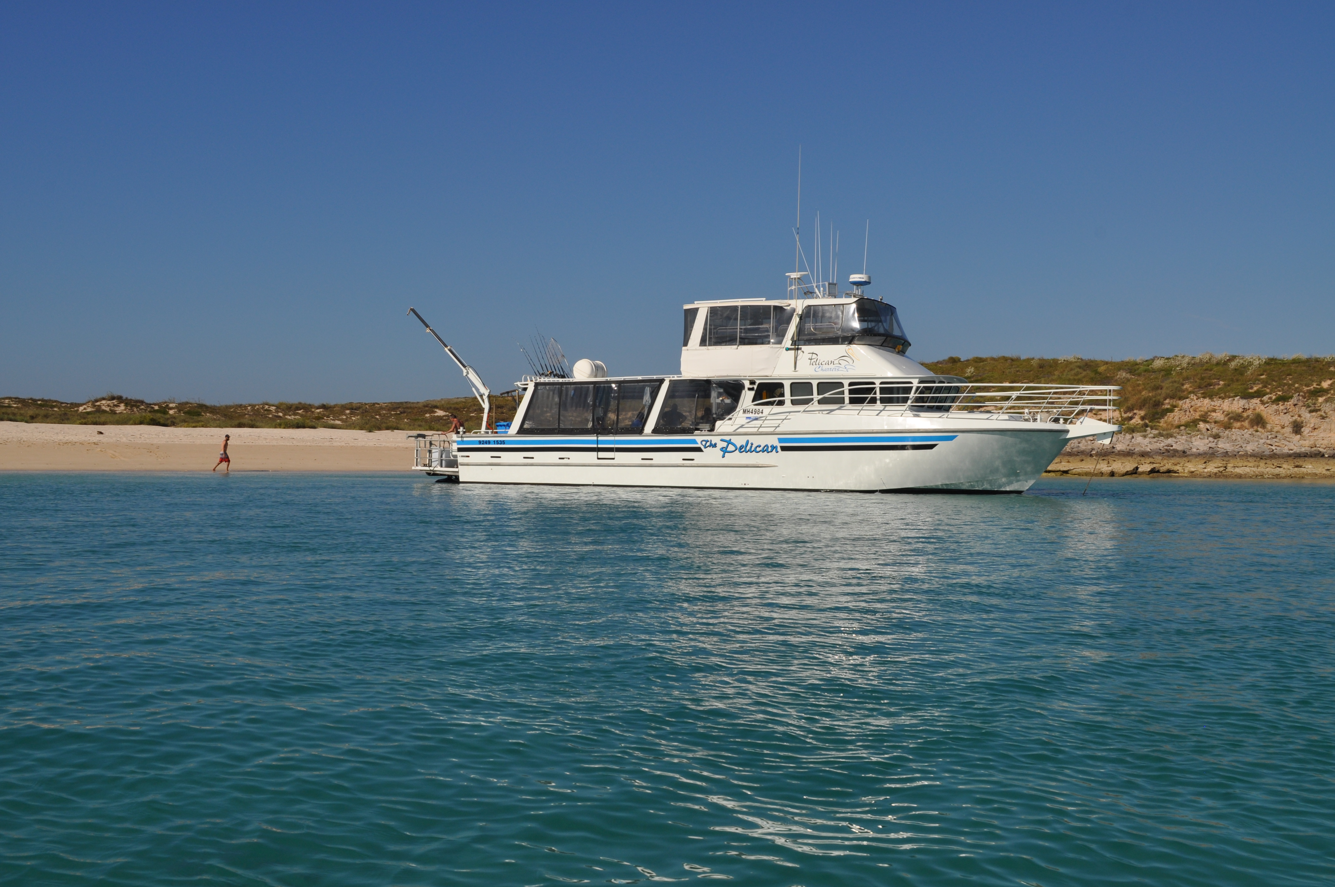 Wa charters boat hire for Wa fishing charters